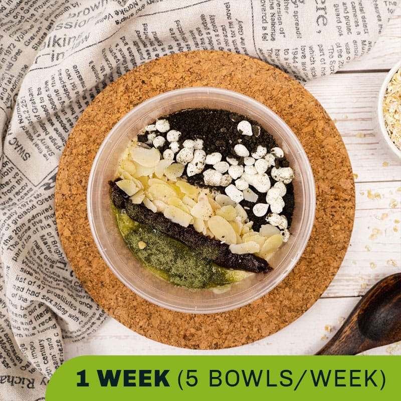 Oatmeal Super Bowls (1 Week)