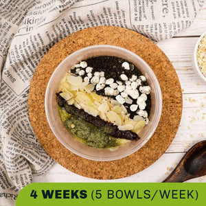 Oatmeal Super Bowls (4 Weeks)