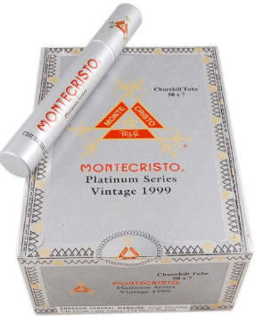 Montecristo Platinum Churchill Tube
