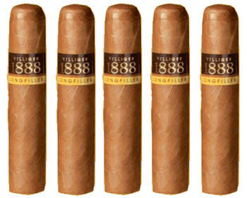 Villiger 1888 Short Robusto (5 Cigars Sampler)