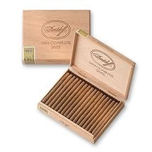 Davidoff Mini Cigarillo Silver (2 Pack Sampler)