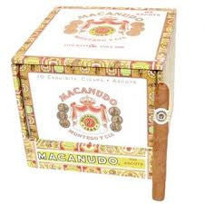 Macanudo Cafe Ascot 10-Count Tin (10 Tins)