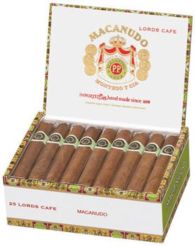 Macanudo Cafe Lords