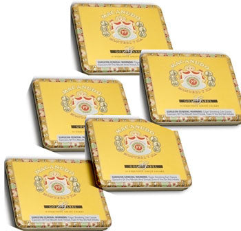 Macanudo Gold Label Ascot Tin (10ct - 5 Tins)