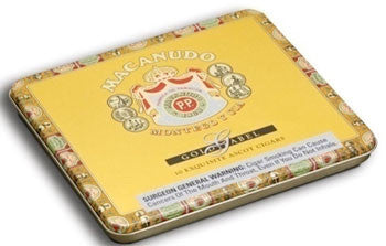 Macanudo Gold Label Ascot Tin (10ct - 1 Tin)