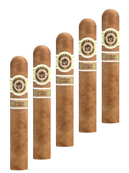Macanudo Gold Label Duke of York (5 Cigars Sampler)