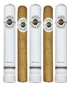 Ashton Monarch Tube (5 Cigars Sampler)