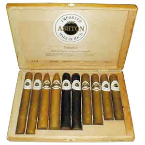 Ashton Sampler 10 Cigar Assortment