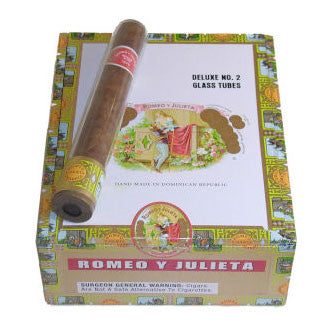 Romeo y Julieta Deluxe #2 Glass Tube