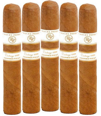 Rocky Patel Vintage Connecticut 1999 6 x 60 (5 Cigars Sampler)