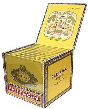 Partagas Puritas (1 Tin Sampler)