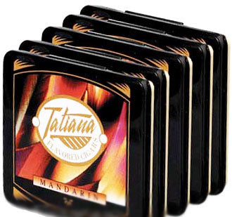 Tatiana Tins Mandarin Small (5 Tins of 10)