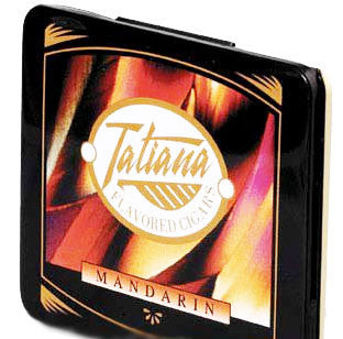 Tatiana Tins Mandarin Small (1 Tin of 10)