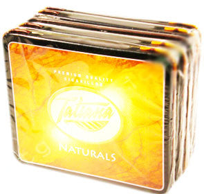Tatiana Tins Natural Small (5 Tins of 10)