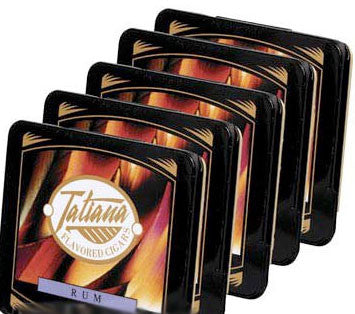 Tatiana Tins Rum Small (5 Tins of 10)