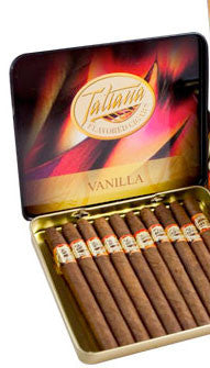 Tatiana Tins Vanilla Small (1 Tin of 10)