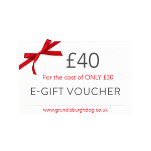 £40 gift voucher for only £30