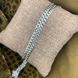 925 Sterling Silver Curb Chain