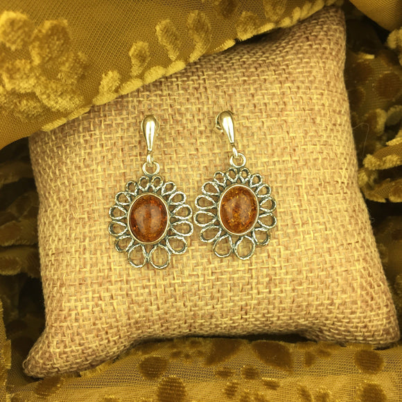 Amber Earrings 10