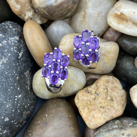 Amethyst Earrings 35