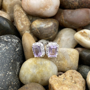 Amethyst Earrings 36
