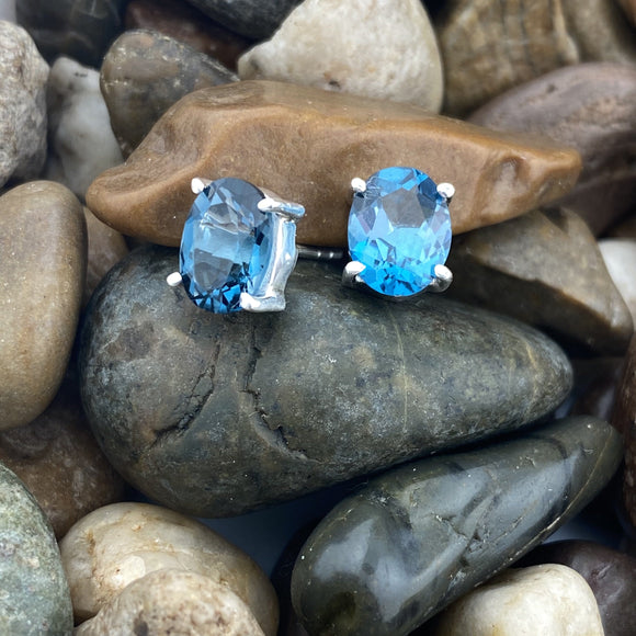 Blue Topaz Earrings 10