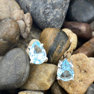 Blue Topaz Earrings 1