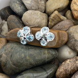 Blue Topaz Earrings 20