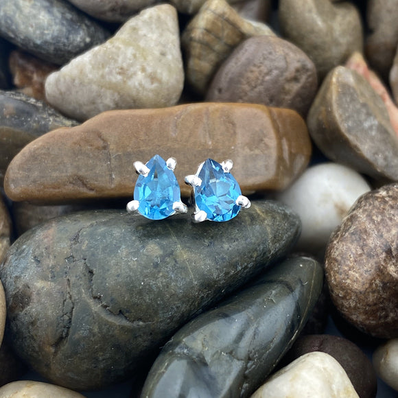 Blue Topaz Earrings 26