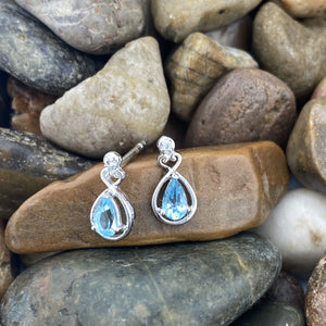 Blue Topaz Earrings 31