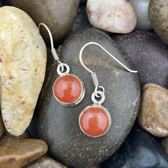 Carnelian Earrings 3
