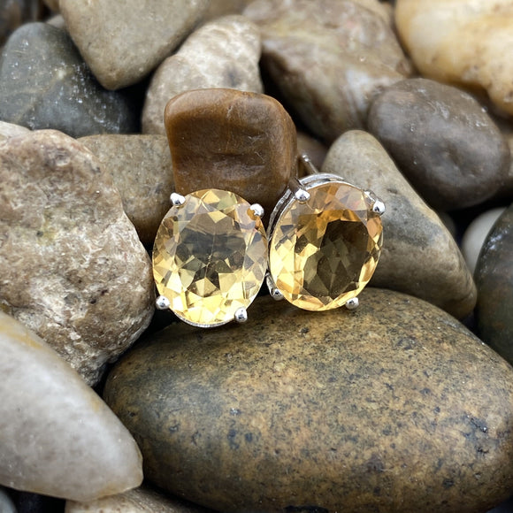 Citrine Earrings 14