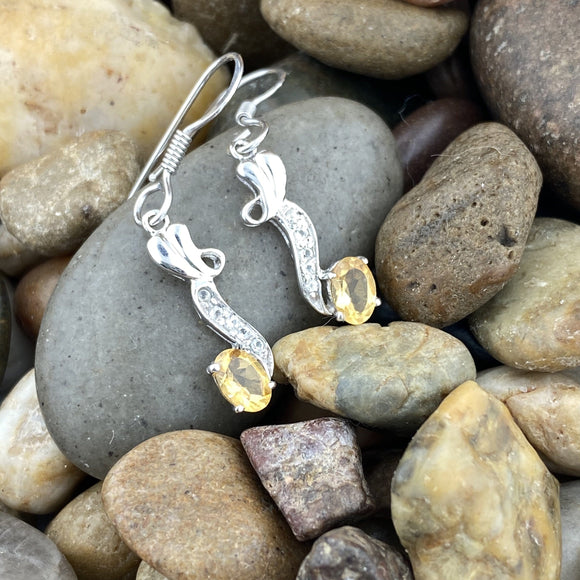 Citrine Earrings 20