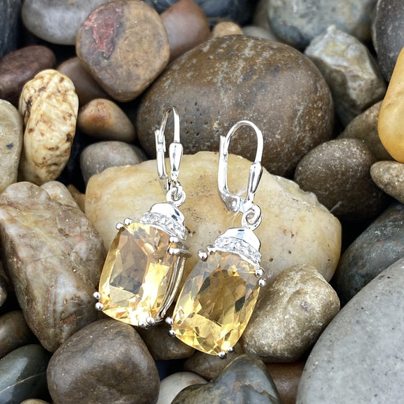 Citrine Earrings 26