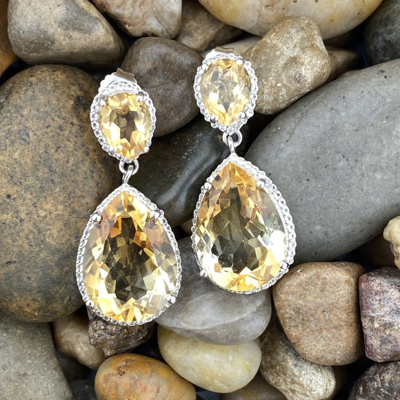 Citrine Earrings 2