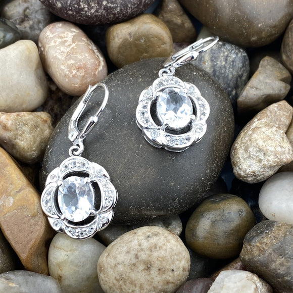 Crystal Quartz Earrings 5