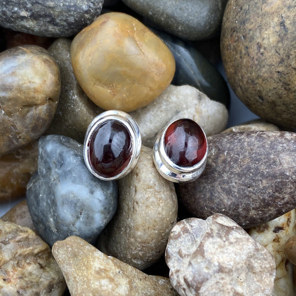 Garnet Earrings 1
