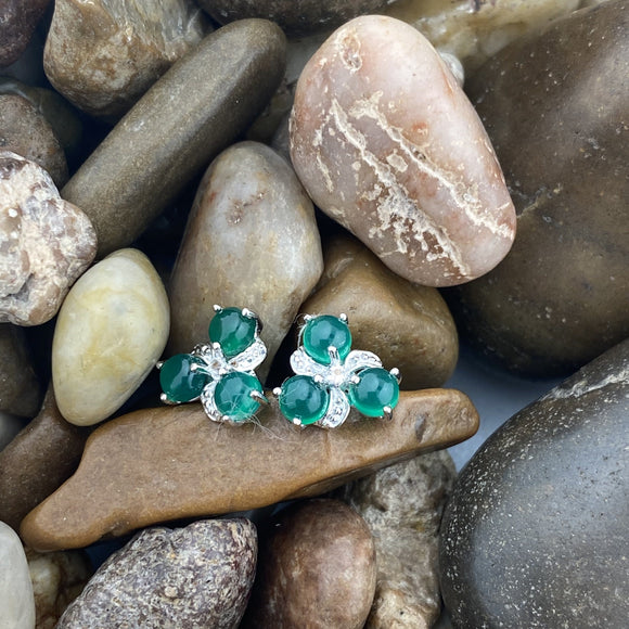 Green Onyx Earrings 5