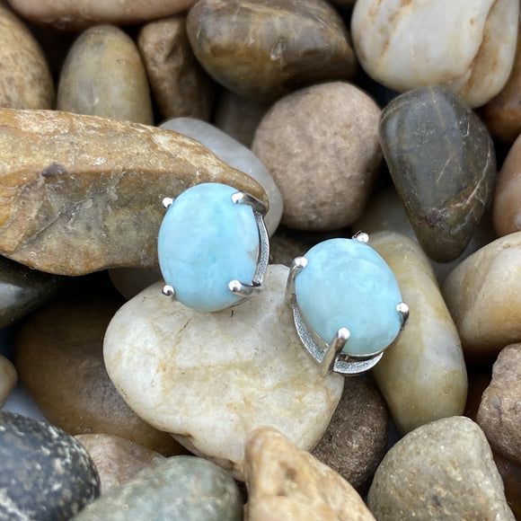 Larimar Earrings 11