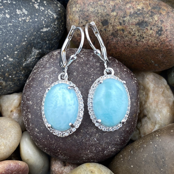 Larimar Earrings 18