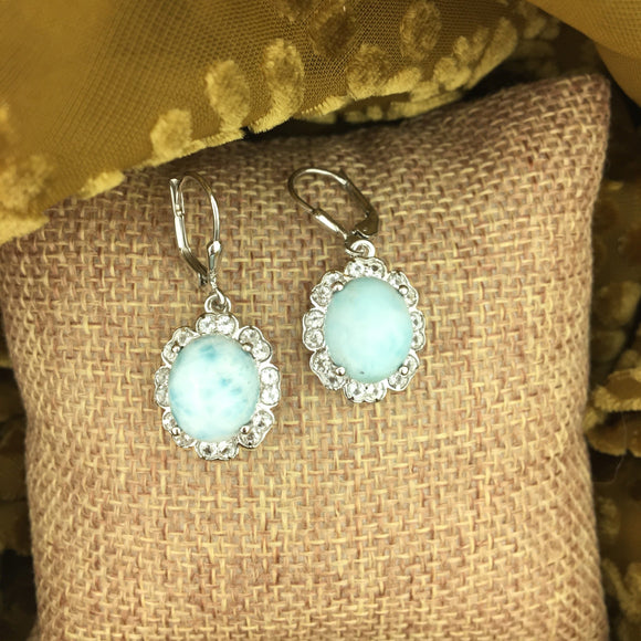 Larimar Earrings 6