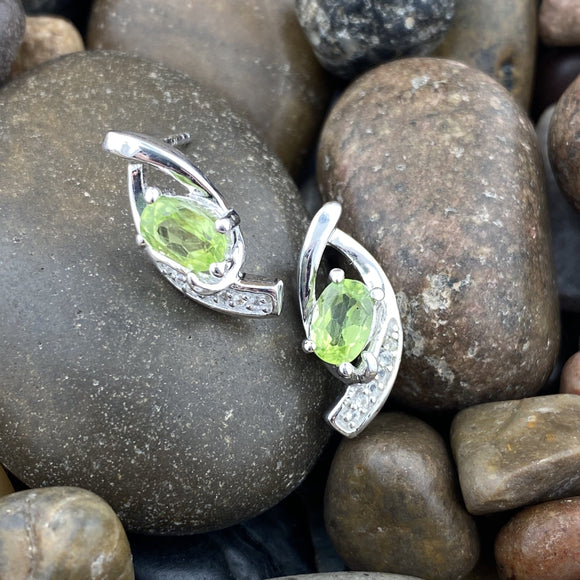 Peridot Earrings 13