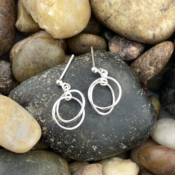 PlainSilver Earrings 26