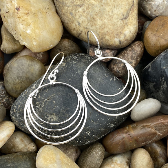 PlainSilver Earrings 35