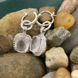 Rose Quartz Earrings 25