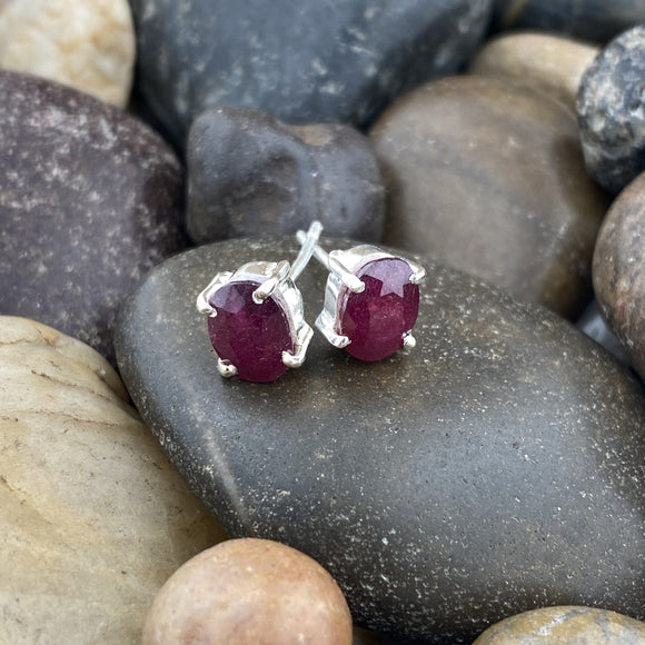 Ruby Earrings 2