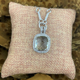 Green Amethyst Necklace 2
