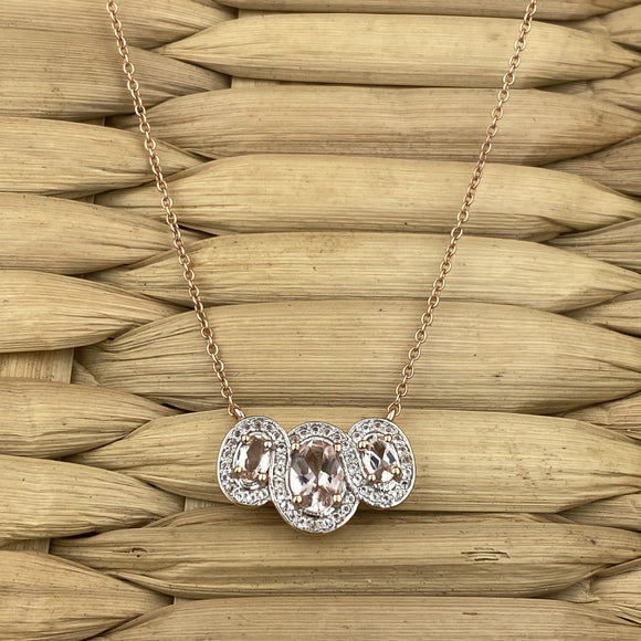 Morganite Necklace 2