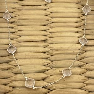 Rose Quartz Necklace 7