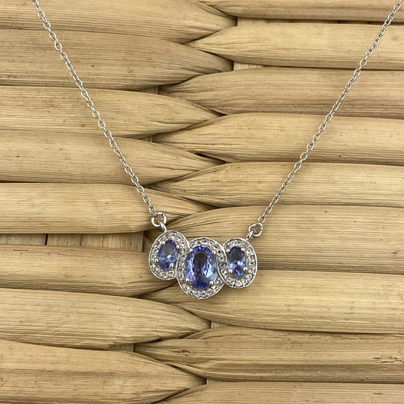 Tanzanite Necklace 3